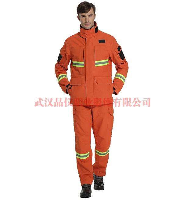 阻燃反光安全服,工矿建筑、户外作业工作服03009