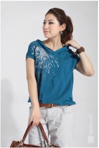 武汉夏季短袖T恤衫厂家
